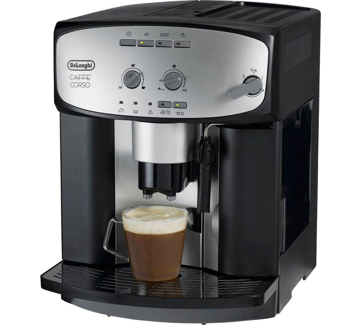 de longhi esam2800 cafe corso bean to cup coffee machine. Black Bedroom Furniture Sets. Home Design Ideas