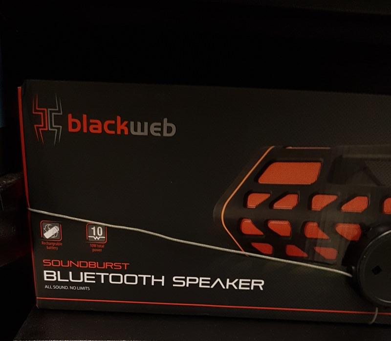 Blackweb Soundboom Bluetooth Speaker £30 At Asda