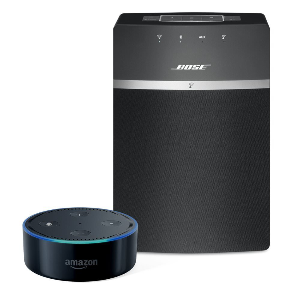bose soundtouch 10 bluetooth speaker echo dot 2nd gen. Black Bedroom Furniture Sets. Home Design Ideas