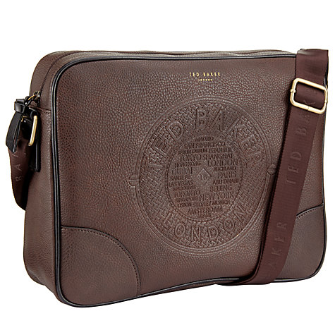2c9014ae88b3 Ted Baker Donboss Embossed Stylish Messenger Bag £48.30 - Reduced to clear  - Kashy.co