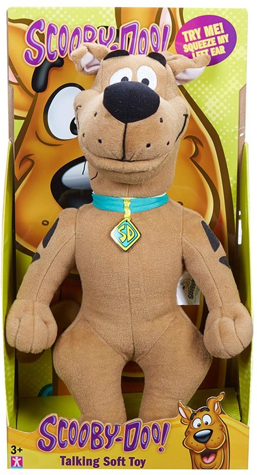Free Scooby Doo Talking Soft Toy When You Spend 25 On Scooby Doo