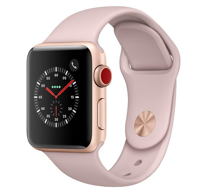 Apple Watch Series 3 Gps Cellular 38mm Gold Aluminium