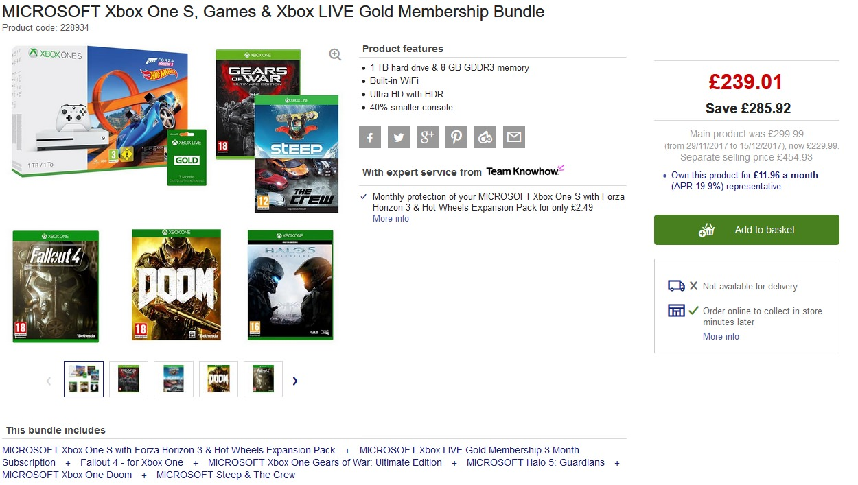 how to get free xbox live gold with horizon