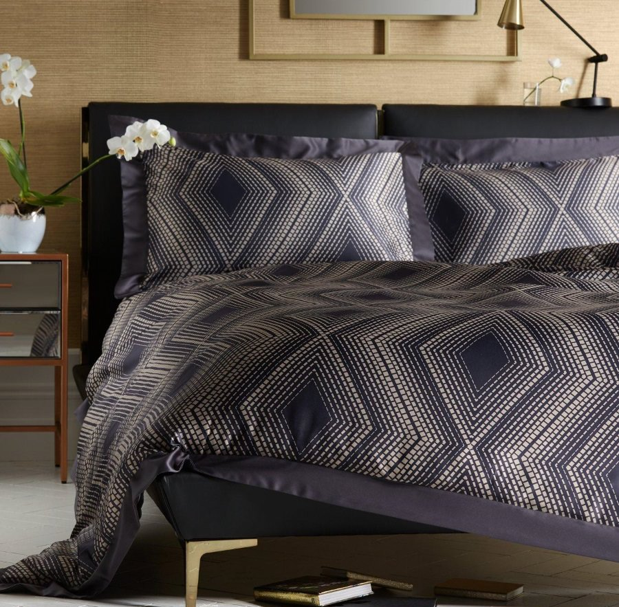 Ideal Home Nocturne Geometric Duvet Cover Set From 163 20