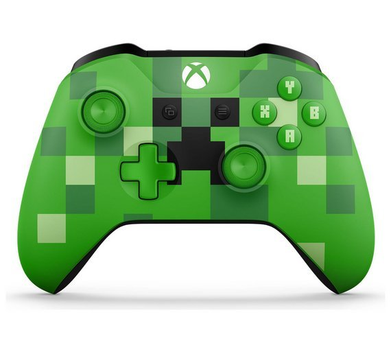 Xbox one minecraft creeper controller 4699 at argos 4999 at xbox one minecraft creeper controller 4699 at argos 4999 at very and amazon prime members sciox Choice Image