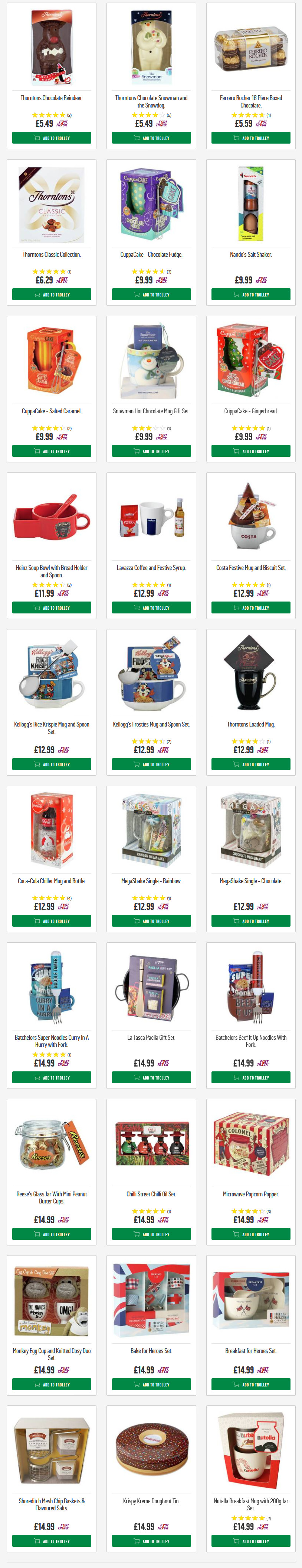 Hot Chocolate Gift Sets Thorntons