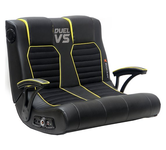 X Rocker Duel Vs Double Gaming Chair 163 69 99 At Argos