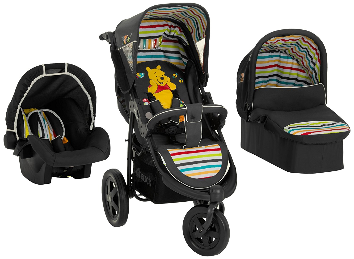 hauck disney baby viper trio set from birth travel system car seat carry cot and raincover 3. Black Bedroom Furniture Sets. Home Design Ideas