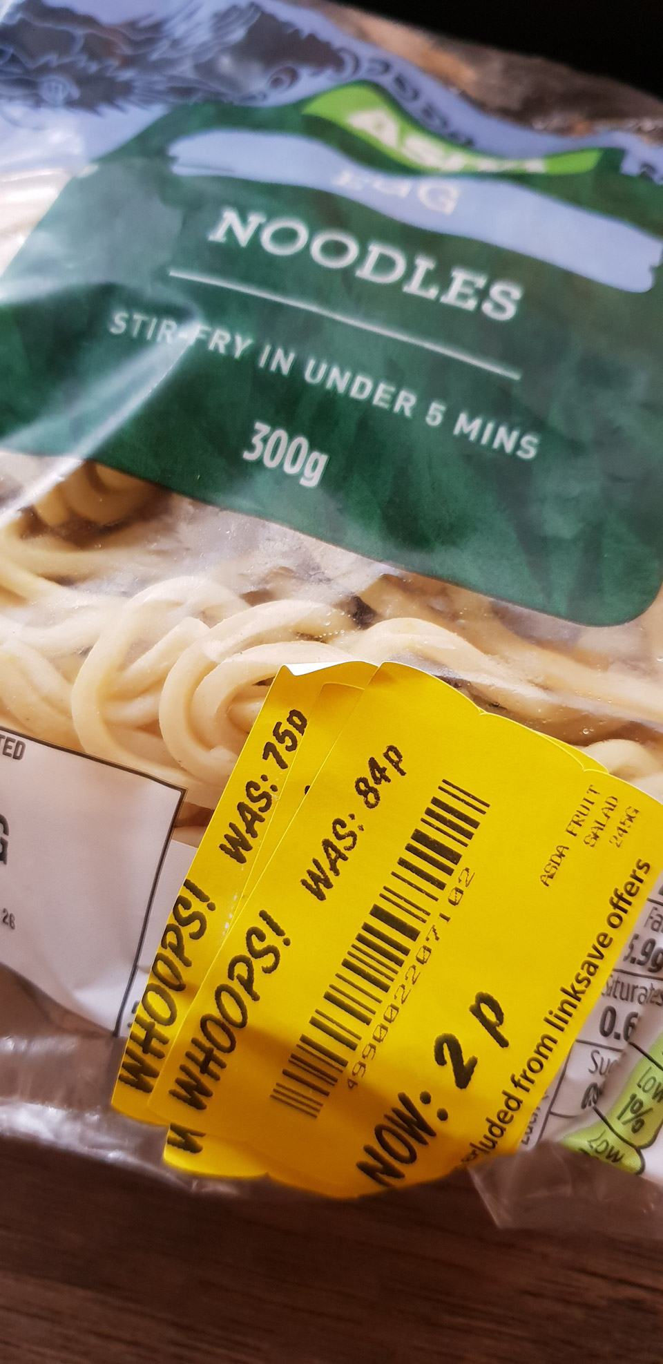 Egg Noodles 300g Reduced To Only 2p At Asda Kashyco