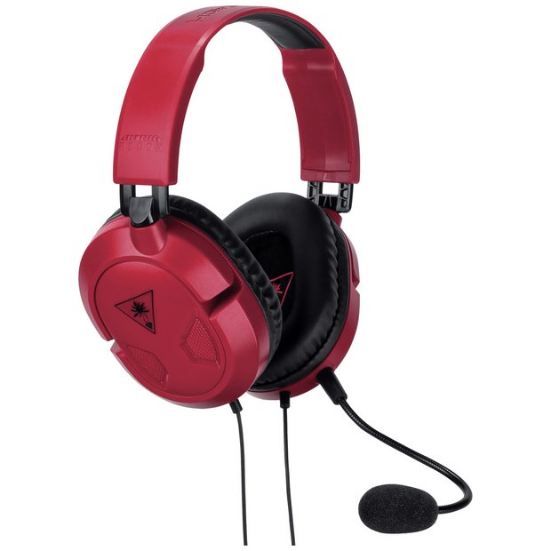 Turtle Beach Recon 50 Gaming Headset Pc Xbox Ps4 Switch Red 24 99 Argos Kashy Co