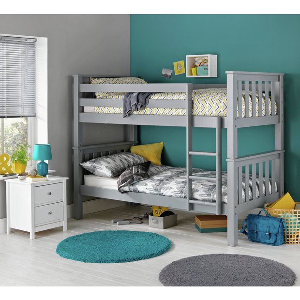 Argos Home Kids Heavy Duty Bunk Bed With 2 Mattresses