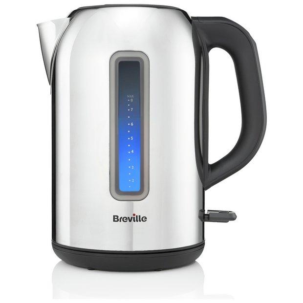 breville illuminated jug kettle stainless steel. Black Bedroom Furniture Sets. Home Design Ideas