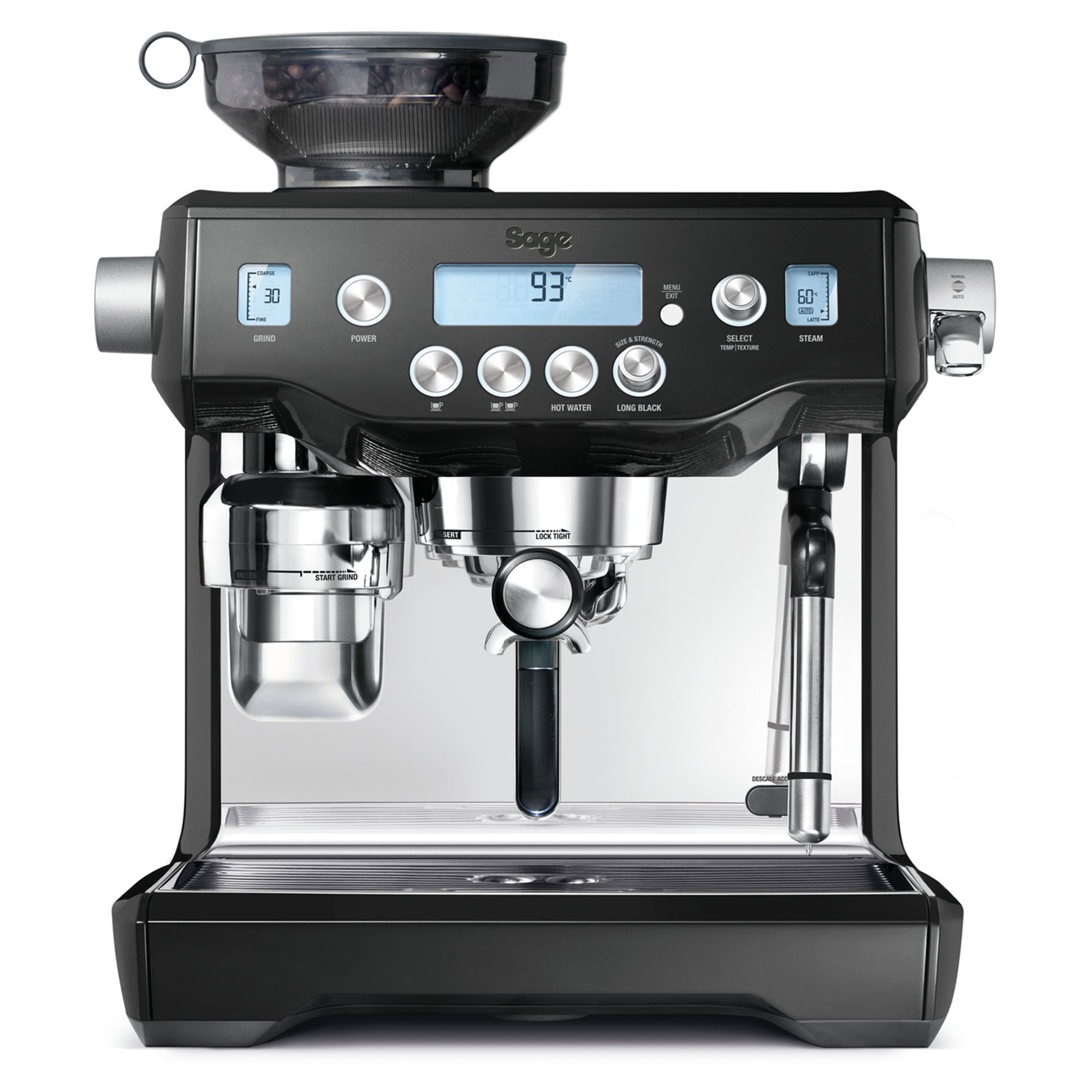 Sage BES980BKS The Oracle Bean to Cup Coffee Machine £ ...