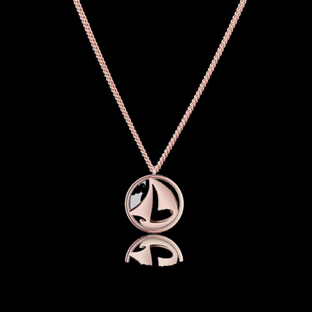 Necklace Sail Away Ip Rose Gold 163 55 00 Paul Hewitt