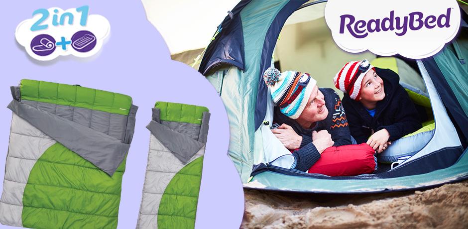 Win Camping ReadyBeds @ Argos