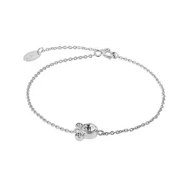 Disney Mickey Mouse Sterling Silver Cubic Zirconia Bracelet