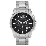 Armani Exchange AX2084 Men's Chronograph Date Bracelet Strap Watch, Silver/Black £179.00 at John Lewis