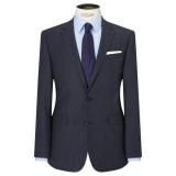 John Lewis Textured Super 100s Wool Tailored Suit Jacket, Ink Blue £42.00  at John Lewis