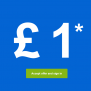 £1 Max Selling Fees for 4 Days Only @ eBay