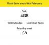 4GB Data, 1500 Mins & Unlimited Texts £8/m (£96 total) @ Virgin Media 🔥 🔥 🔥