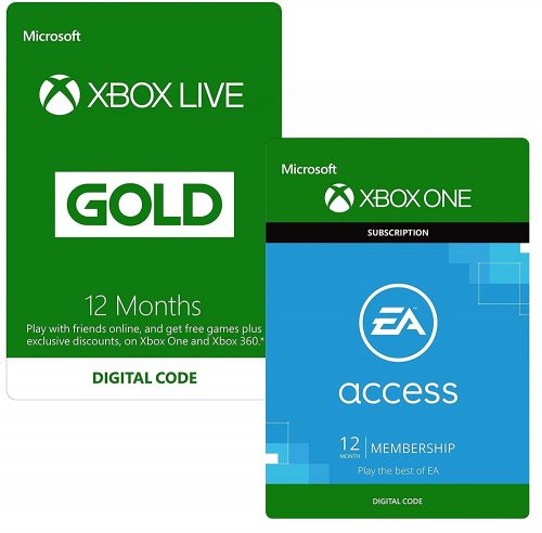12 Months Xbox Live Gold + 12 Months EA Access £44 99 at Amazon