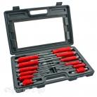 12 Piece Mechanics Screwdriver Box Set Heavy Duty Engineers Hex Bolsters + Case £10.40 on eBay