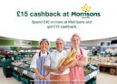 £15 Cashback at Morrisons on £40+ Spend with TopCashback