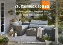 £15 Cashback on £15 Spend at B&Q with TopCashback