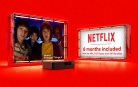 6 Months Netflix Included with Virgin Media Mix, Full House and VIP Bundles
