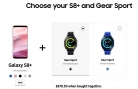 Get Samsung Gear Sport for ONLY £149.50 When Bought with Samsung Galaxy S8+ Priced £729 (was £779) – Total £878.50 at Samsung