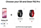 Get Samsung Gear Fit2 Pro (£104.50) + Samsung Galaxy S8 (£639) for ONLY £743.50 When Bought Together at Samsung