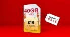 Get 40GB Data + 5000 Mins & Unlimited Texts for ONLY £18 at Virgin Mobile