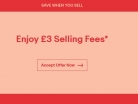 £3 Max Final Value Fee on 100 Listings with No Insertion Fee at eBay – Ends 22-Jan-2018