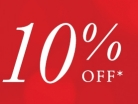 Enjoy Extra 10% OFF Selected Jewellery Lines Using Code at Goldsmiths