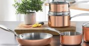 5-Piece Copper Coloured Pan Set £84.99 at Ace