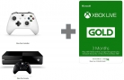Xbox Live 3 Month Gold Membership Only £9.99 When You Buy Xbox One Console or Controller at Amazon