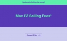 £3 Max Selling Fees at eBay – Hurry, Ends Monday!