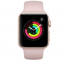 Apple Watch Series 3 – 42mm Gold Aluminium Case with Pink Sand Sport Band £272.99 at Toby Deals