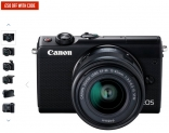 Canon Eos M100 Mirrorless Camera Wth 15-45mm Lens £399.99 with Code at Argos
