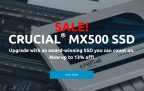 Crucial MX500 SSD Sale Now On (up to 13% off) Directly at Crucial