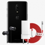 OnePlus 6 Mirror Black 6GB+64GB + OnePlus Bullets Earphones (V2) + Dash Charge Power Adapter + Dash Type-C Cable £469 at OnePlus
