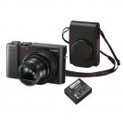 Panasonic Lumix DMC-TZ100KITEB-R 4K Digital Camera with Leather Camera Case £599.95 after £50 Cashback at John Lewis