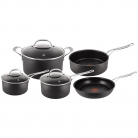 Jamie Oliver by Tefal Hard Anodised Pan Set, 5 Pieces £212 at John Lewis