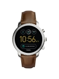 Fossil Q FTW4003 Men's Explorist Leather Strap Touchscreen Smartwatch, Brown/Black £124.50 @ John Lewis & Partners