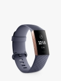 Fitbit Charge 3, Health and Fitness Tracker, Blue / Black £129.99 @ John Lewis & Partners