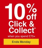 10% Off £75+ Click & Collect Orders with Code @ Wickes