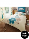 Candice Duvet Cover Set (Twin Pack) £20.25 @ Very