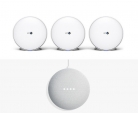 3 x BT Whole Home Wi-Fi + Free Google Home Mini (worth £34) + Free 1 Month Google Play Music + Free Delivery £189 at BT Shop
