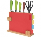 HOME 10 Piece Chopping Board and Knife Set £14.99 at Argos