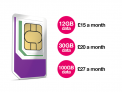 100GB Data + Unlimited Mins & Texts £27/Month SIMO Deal at Three